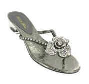 FS-3238-3_Gunmetal_Clear� Helen's Heart Formal Shoes