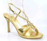 FS-4218-35_Gold� Helen's Heart Formal Shoes