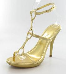 FS-6602-61_Gold� Helen's Heart Formal Shoes