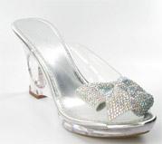 FS-778-1_Silver_AB� Helen's Heart Formal Shoes