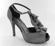 FS-A8818-1_Grey� Helen's Heart Formal Shoes