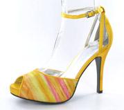 FS-A8818-2B_Yellow_� Helen's Heart Formal Shoes