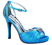 FS-A8818-45_Turquoise_Blue� Helen's Heart Formal Shoes