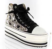 FS-813-2-BLACK- Helen's Heart Formal Shoes
