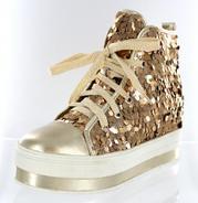 FS-908-101-GOLD Helen's Heart Formal Shoes