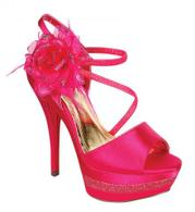 FS-ELEGANT-58-Fuchsia Helen's Heart Formal Shoes