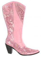 LB-0290-10_Pink� Helen's Heart Boots