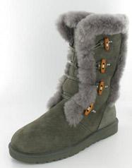 LB-HM128_Grey� Helen's Heart Boots