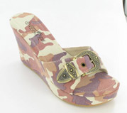 PTS-358-9A_Pink_Camo� Helen's Heart Casual Shoes