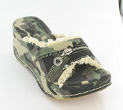 PTS-6639-39_Forest_Camo� Helen's Heart Casual Shoes