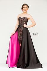 6031 Black/Fuchsia front