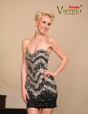 9509 Vienna Short Dress