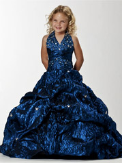 Halter Ball Gown