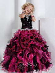 Ruffle Ball Gown