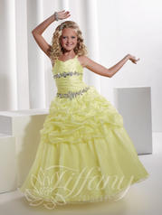 Gathered Ball Gown