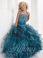 Beaded Ruffle Ballgown