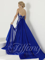 16155 Electric Blue/Nude back