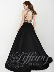 16188 Black/Nude back