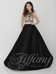 16188 Black/Nude front