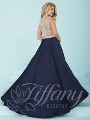 16212 Navy/Nude back