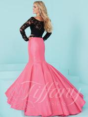 16240 Black/Peony Pink back