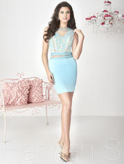 27127 Blue/Nude front