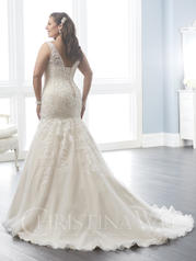29289 Ivory/Champagne/Silver back