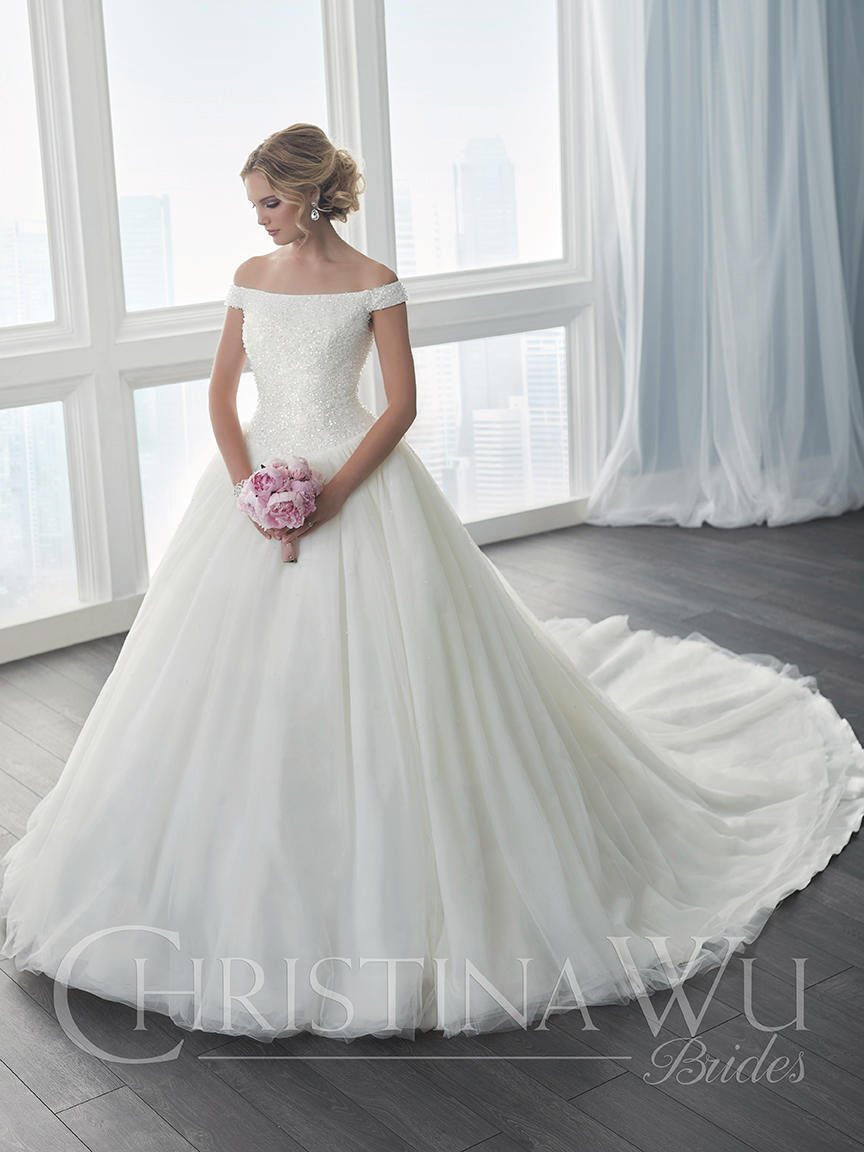 Christina wu bridal 15633 christina wu elegant xpressions for Wedding dresses sioux falls