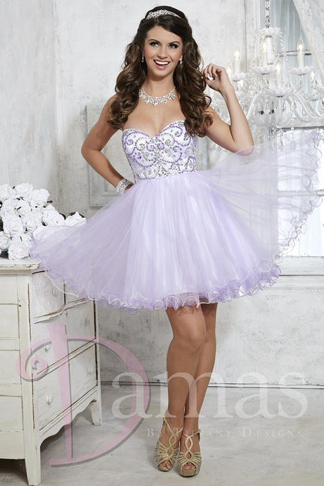 Light purple sparkly dress