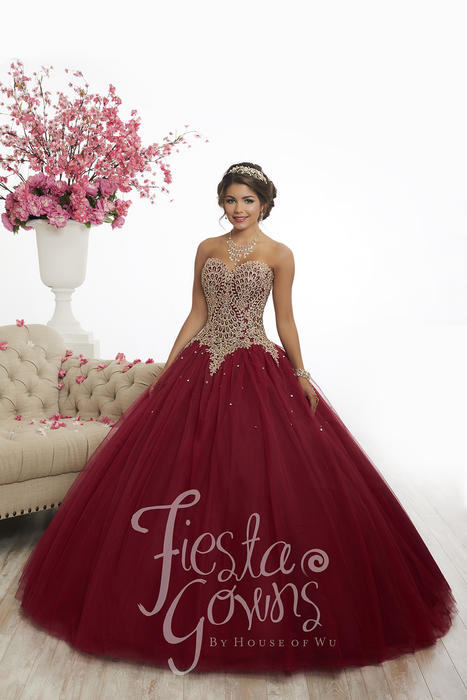 Fiesta 56341 Quinceanera Gowns