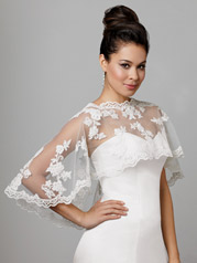 Short Lace Caplet