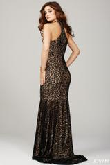 25100 Black/Nude back
