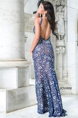 26533 Navy/Nude back