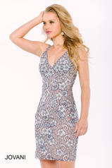 39822 Silver/Nude front