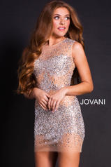 39825 Silver/Nude front