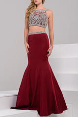41441 Burgundy/Silver front