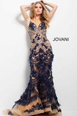 41592 Navy/Nude front