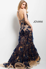 41592 Navy/Nude back