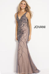 52121 Charcoal/Nude front