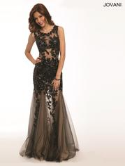 24551 Black/Nude front