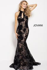 54834 Black/Nude front