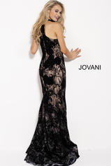 54834 Black/Nude back