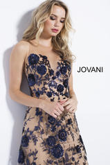 56046 Navy/Nude detail