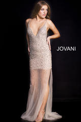 58559 Silver/Nude front