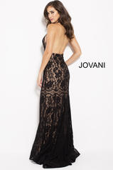 59595 Black/Nude back