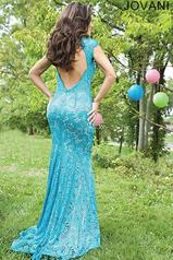 78450 Turquoise/Nude back