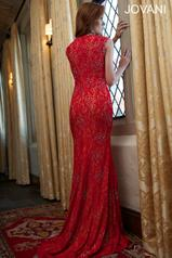 90709 Red/Nude back