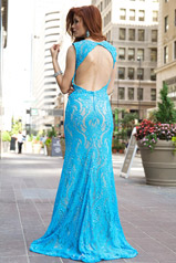 99077 Blue/Nude back