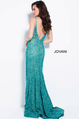 58433 Teal/Nude back