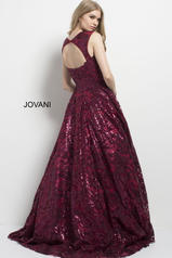 48976 Burgundy/Nude back